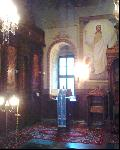 Klisura Monastery - the church inside