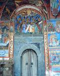 Rila Monastery - the church entrance