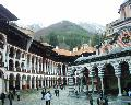 Rila Monastery - the yard